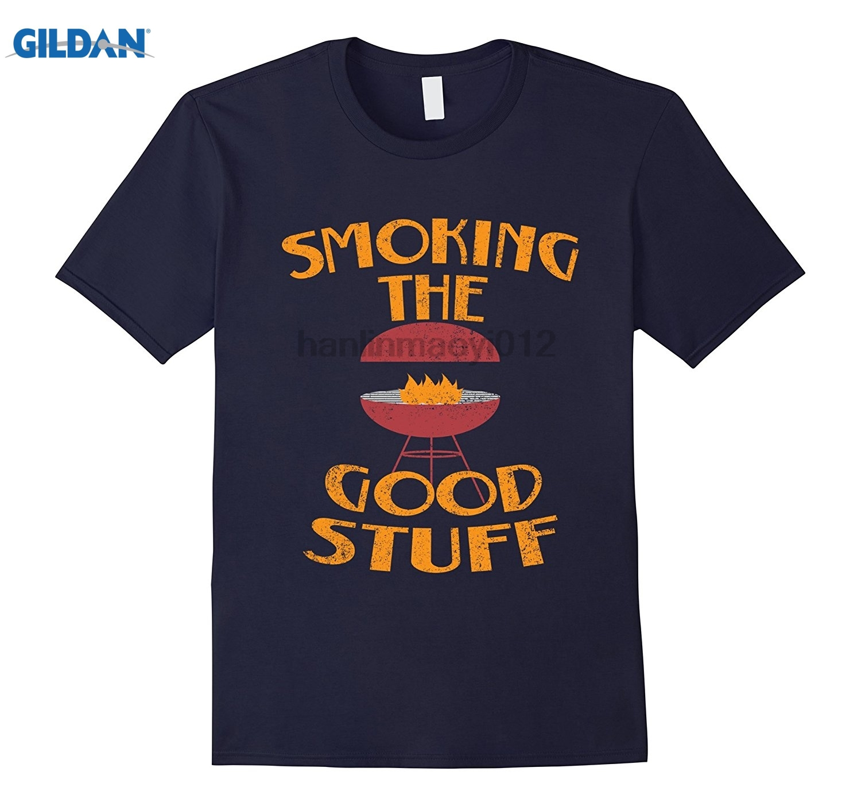 GILDAN Fire Cook Smoking Good Stuff Grill Food Barbecue BBQ T Shirt Womens T-shirt