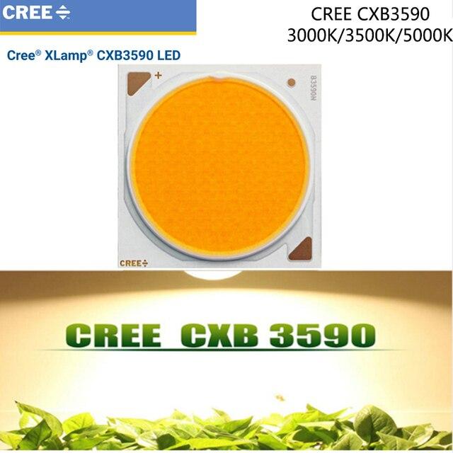 1ピース/lotoriginal cree CXB3590 cxb 3590 led成長ライト3000 k/3500 k/5000 k cdビン80 cri 36ボルト用医療植物