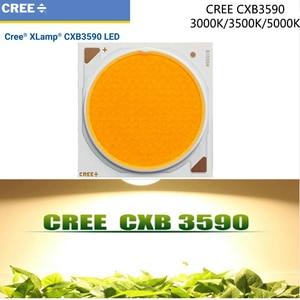 Image 1 - 1 pces/lotoriginal cree cxb3590 cxb 3590 led cresce a luz 3000 k/3500 k/5000 k cd bin 80 cri 36 v para plantas médicas