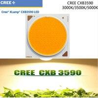 1pcs LotOriginal Cree CXB3590 CXB 3590 Led Grow Light 3000K 3500K 5000K CD Bin 80 CRI