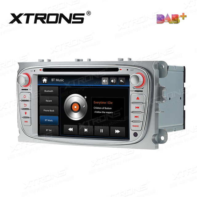 """7"""" DAB+ Radio Car DVD Player Stereo GPS For S-Max Galaxy Kuga Ford Mondeo Focus C-Max Auto 2 Din Bluetooth CANBus FM AM SD RDS"""