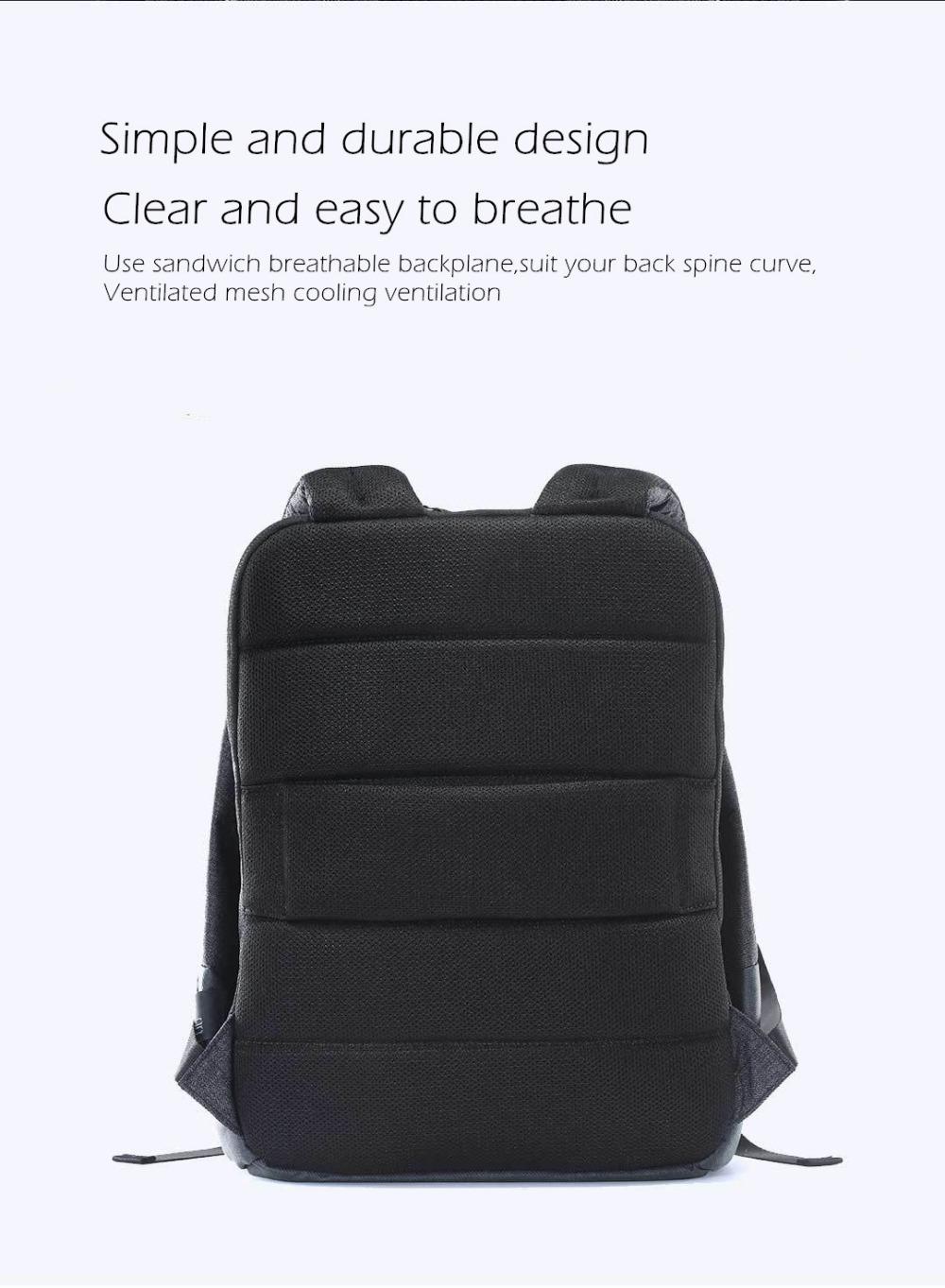 c0fb23d32fd19 Xiaomi 90 Spaß Stadt Einfache Rucksack Wasserdichte Weibliche Freizeit Mi  Rucksack Daypack Schultasche Seesack Für 14 Zoll Laptop