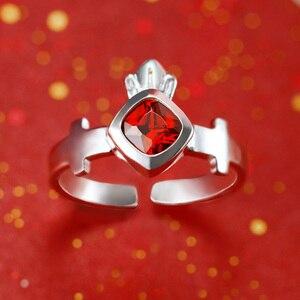 Image 2 - [مصير البقاء ليلة] رين Tohsaka خاتم أنيمي 925 فضة مجوهرات Emiya عمل الشكل مصير الطلب الكبير FGO FSN هدية