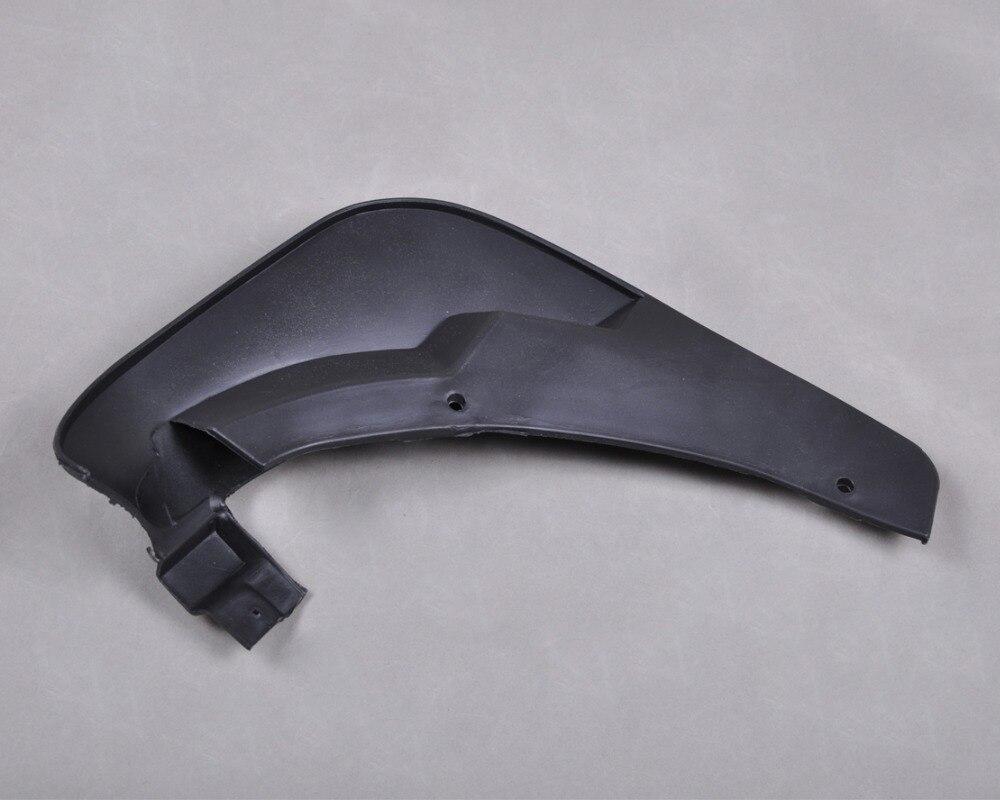 DWCX отслеживания 4x Брызговики с клапаном брызговик для Mazda 6 Я седан 4-дверь 2002 2003 2004 2005-2007 OEM модель ходовой части