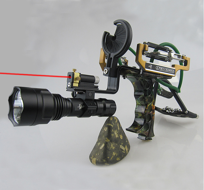 New Multifunction Slingshot Shooter With Arrow Rest Powful