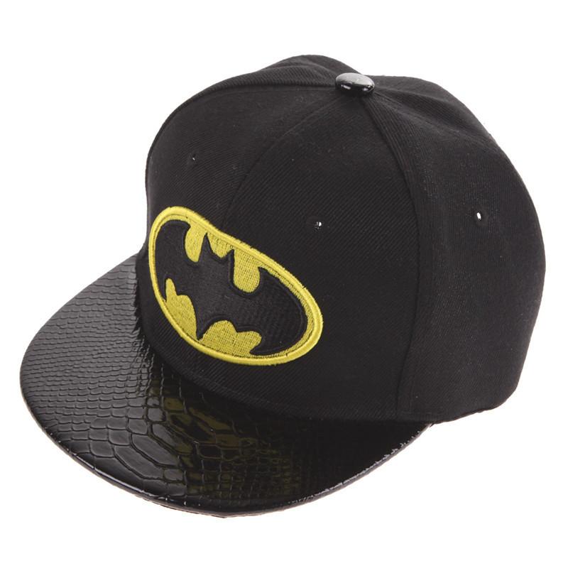 Batman Kid's Snapback Cap - Black