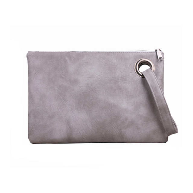 DAUNAVIA Fashion women s clutch bag leather envelope bag high-end and  elegant evening bag female 4aa65ed3fd5d9