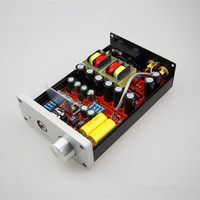 Finished HIFI Class A Headphone Amplifier Reference Lehmann amp Circuit For HD650 K701 Headphones Audio Amp