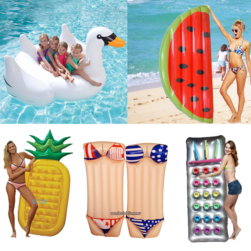 Popular pool floats buy cheap pool floats lots from china for Flotadores para piscinas