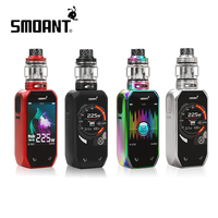 Electronic Cigarette Starter Kit Smoant Naboo Mod 2.4 Inch Colorful Screen 2+1 UI Options with 4ml Atomizer and 2ml Glass Tube