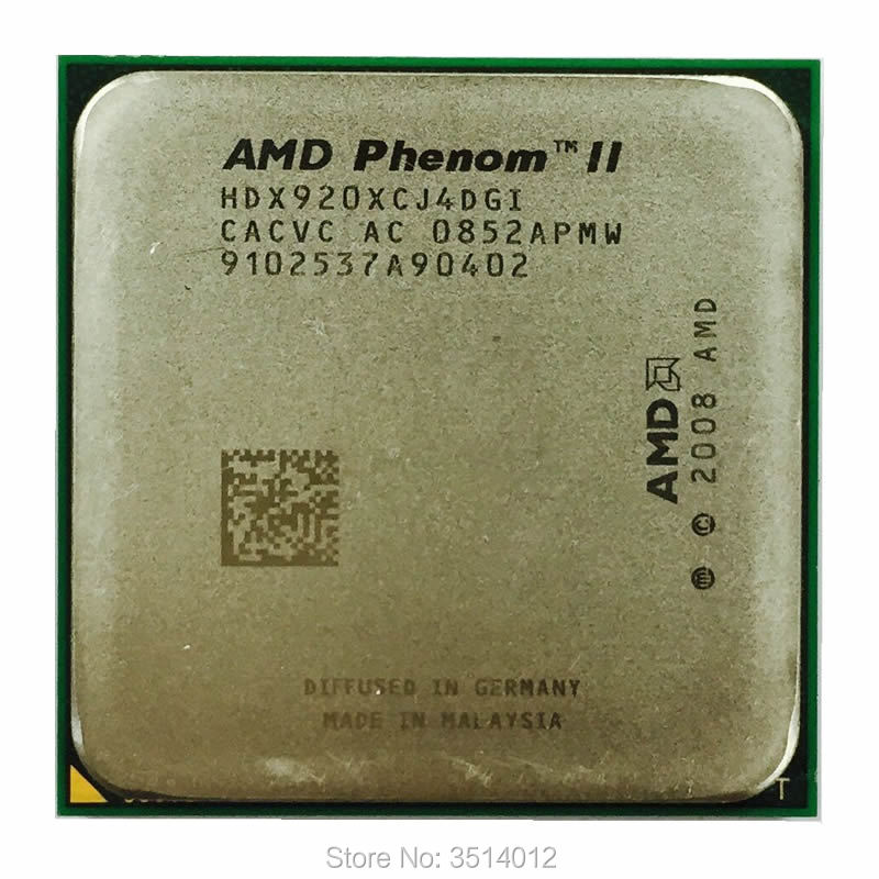 Bảng giá AMD Phenom II X4 920 2.8 GHz Quad-Core CPU Processor HDX920XCJ4DGI Socket AM2+ contact to sell X4 940 Phong Vũ