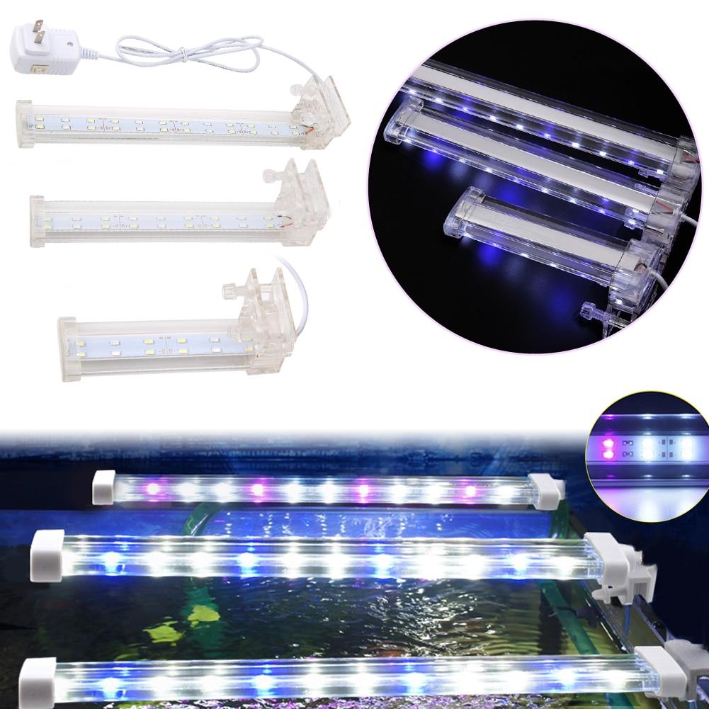 Crystal led aquarium light royal blue aquarium lamp fish for Blue light for fish tank