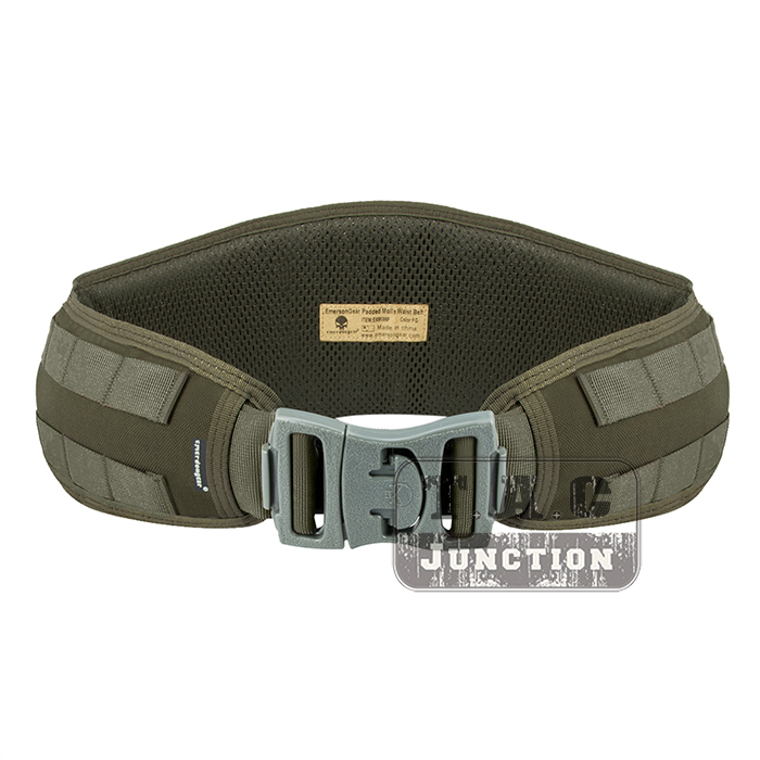 Emerson Tactical Padded MOLLE / PALS System Waist Belt EmersonGear Battle Combat Multi Function Belt tmc vc style brokos belt genuine multicam padded molle battle belt free shipping sku12050743