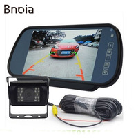 7inch 12 24V LCD Rear Monitor Car Rear View Reverse System Waterproof IR Night Vision