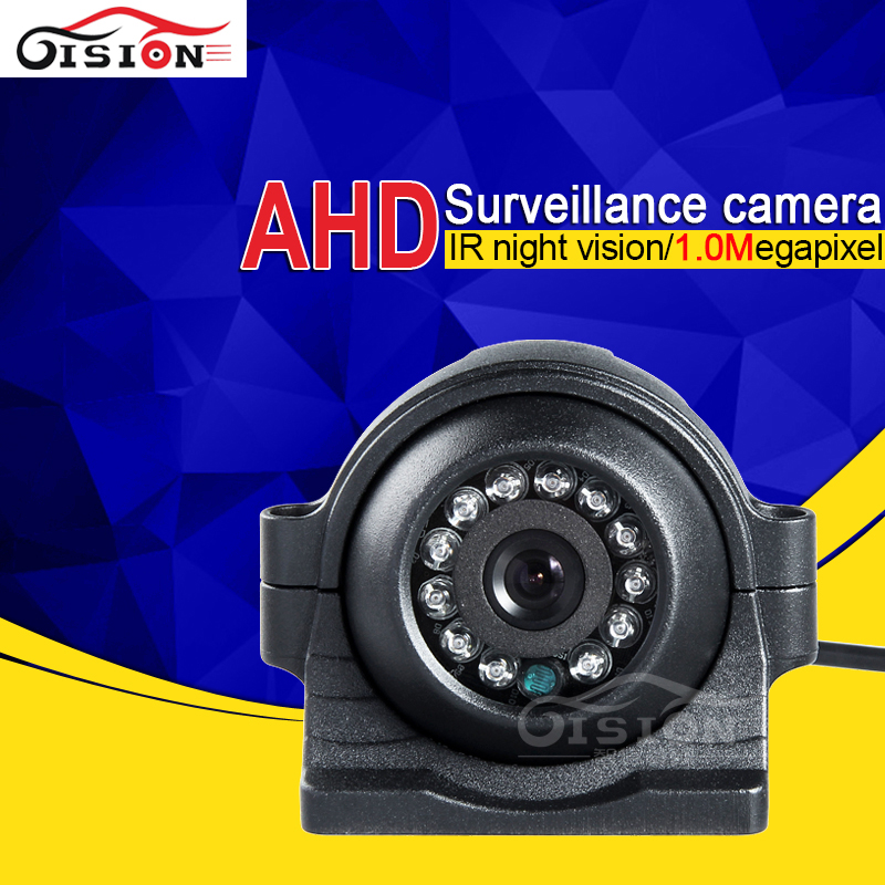 Free Shipping Waterproof Infrared Red AHD font b Camera b font Metal 1 0MP HD Car