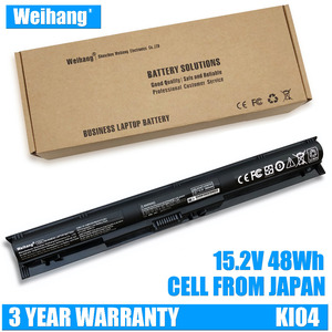 48Wh Japanese Cell Weihang Battery KI04 800049-001 for HP Pavilion 14 14t 15 15t HSTNN-LB6T HSTNN-LB6S HSTNN-LB6R HSTNN-DB6T