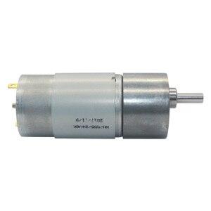 """Image 3 - 12VDC 8 1000 סל""""ד מומנט גבוה נמוך סל""""ד DC מנוע כל מתכת נמוך רעש הילוך מנוע JGB37 545"""