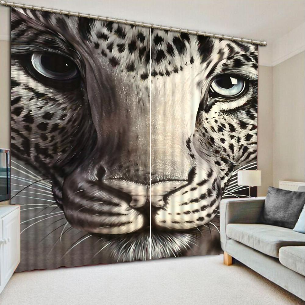 customize 3D curtains Animal avatar living room bedroom blackout curtains home decorcustomize 3D curtains Animal avatar living room bedroom blackout curtains home decor