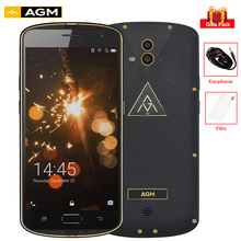 "AGM X1 5,5 ""FHD IP68 4 GB + 64 GB 4G Smartphone 5400 mAh QC3.0 Wasserdichte MSM8952 Octa Core 13MP Android Handy NFC Fingerabdruck"