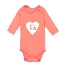 Купить с кэшбэком  100% Cotton Baby Bodysuit Autumn Newborn Cotton Body Baby Long Sleeve Underwear Infant Boy Girl Pajamas Clothes