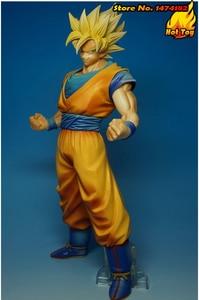 "Image 2 - BANPRESTO figura Original Master Stars Piece (MSP), 100%, Super Saiyan, de ""Dragon Ball Z"", Son Goku"
