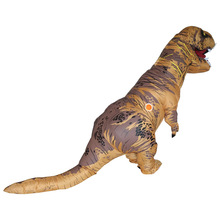 Inflatable Dinosaur T Rex Costumes Blowup T-rex Costume Mascot