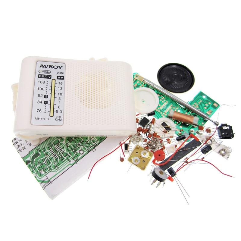 1set AM / FM Stereo AM Radio Kit / DIY CF210SP Electronic Production Suite 100%new