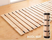 Японский Стиль твердая деревянная кровать Поддержка рейки для татами Спальня мебель 1000/1200/1500/1800/2000 мм Размеры queen/основание для кровати разм...