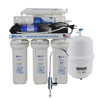 6 Stage Under Sink Reverse Osmosis Drinking Water Filtration System With Alkaline Remineralization Filter Ph Value