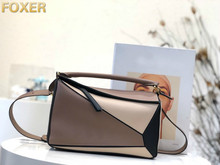 купить Genuine Leather Female Cow Skin Handbags Peach Saddle bag Chain with A Single Shoulder Slanting Clutch Simple Mini Women Bag дешево