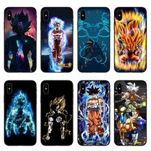 Capas de telefone dragon ball dragonball z macio tpu caso de telefone para iphone x 10 goku capa para iphone 5S se 6 s mais 7 7 mais 8 8 plus(China)