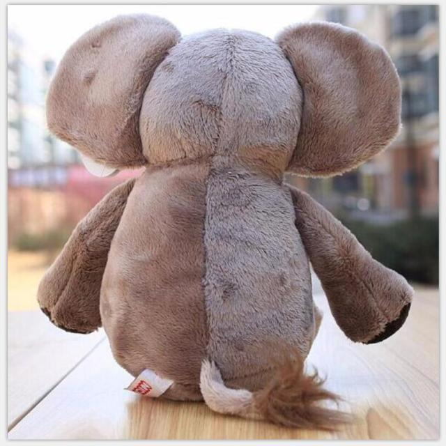 "Brand Jungle Brothers Plush Stuffed Toy Elephant Animals for Kid's Gifts,10"" 25cm,1PC 2"