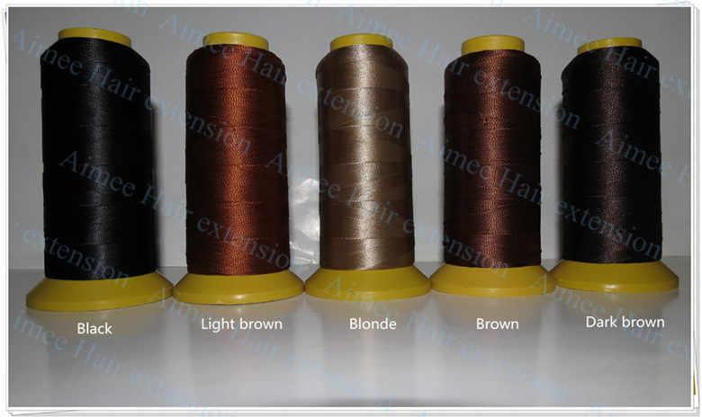 Большие ткацкие иглы с 90 мм Длинная форма иглы 144 шт. и 1 черная нейлоновая высокопрочная полиэфирная нить для волос Уток 3 типа в подарок