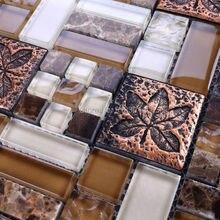 mosaic tiles kitchen wall