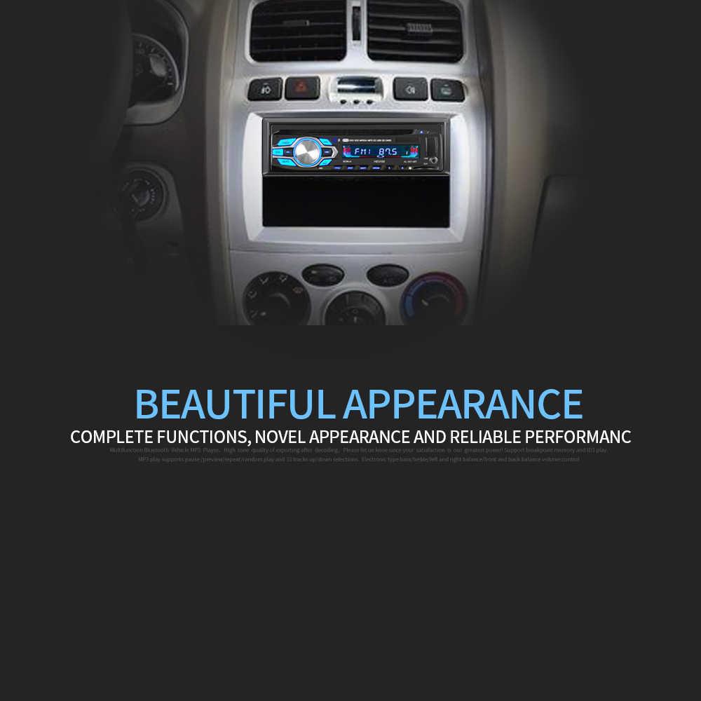 1 din 12ボルト車のdvd cdプレーヤー車のmp3ステレオカーhandfree autoradio btオーディオラジオ5014車のスタイリングワイヤレスリモート制御