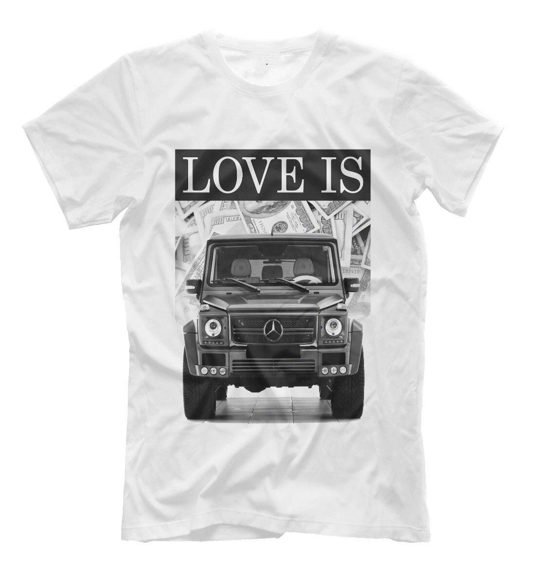 G Class T Shirt Gelandewagen Mercedes Print Tee Black And White