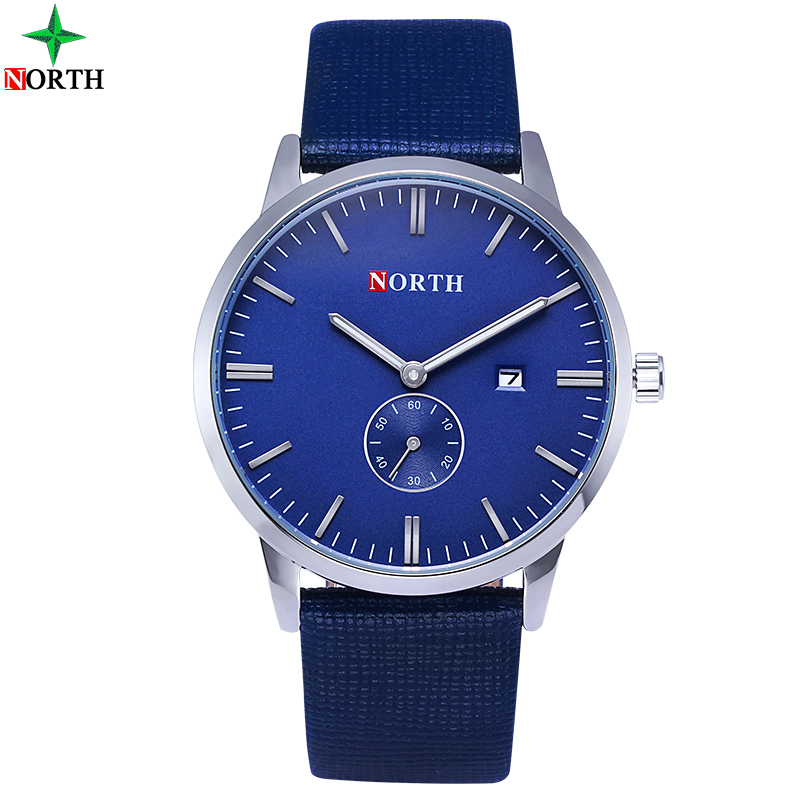 Heren Horloges Mode Casual Horloges 30M Waterdichte Lederen - Herenhorloges