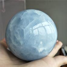 large big natural celestine ball sphere around 7-8cm Ball meditation reiki healing crystal gemstone Globe Sphere free shipping