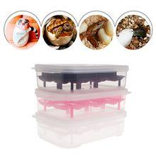 Инкубатор для яиц рептилий 14 слотов Профессиональный Прозрачный чехол для ящерица, змея геккон яиц инкубационный чехол лоток-HJI