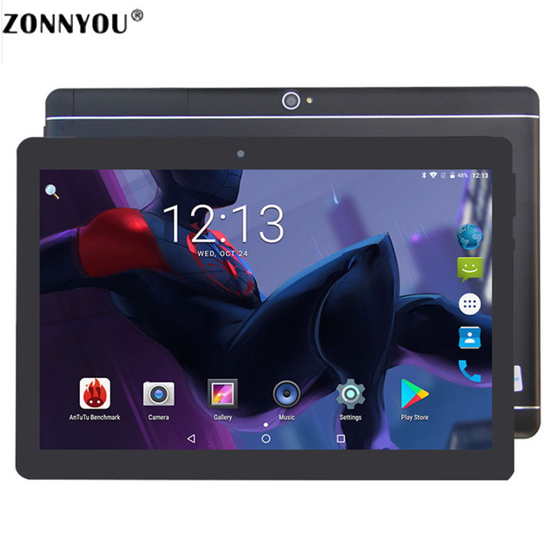 10.1 Inch Tablet PC Android 7.0 Google 3G Call LTE Octa Core 4GB RAM 64GB ROM Bluetooth Wi-fi IPS Kids Gift Tablets PC10 /8/9.6