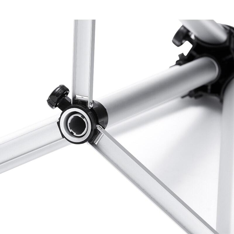 SOMITA 618 soporte de proyector de aleación de aluminio portátil trípode proyector de aterrizaje telescópico trípode bandeja cd50 - 2