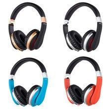 Katlanabilir Bluetooth kablosuz kulaklıklar kulaklık Stereo oyun kulaklık mikrofon ile destek hafıza kartı IPad cep telefonu için