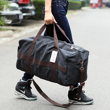 New Canvas Men Travel Bag Large Capacity Women Hand