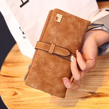 New Belt Clutch Checkbook Change Card Coin Bag Women Purse Ladies Handbag Wallet Free Shipping