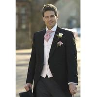 جديد الرجال دعاوى الزفاف العريس البدلات الرسمية prom أفضل رجل العريس tailcoats 3 أجزاء (سترة + سروال + سترة) لأمر