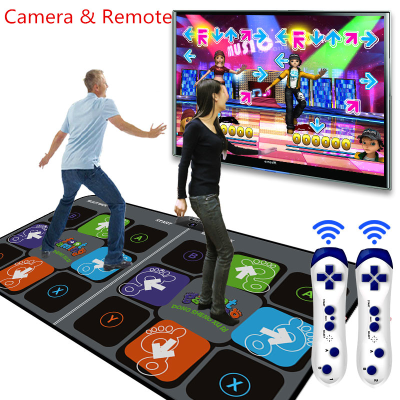 Aliexpress Com Buy Overlooks Double Dance Mat Pad For Tv
