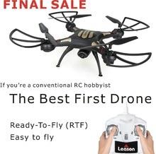 Профессиональный RC Пульт Дистанционного Drone Мультикоптер С Камерой HD 720 P Quad Безголовый 2.4 Г RC Copter Drone 4 CH 6 ГИРОСКОПА Вертолет оригинал