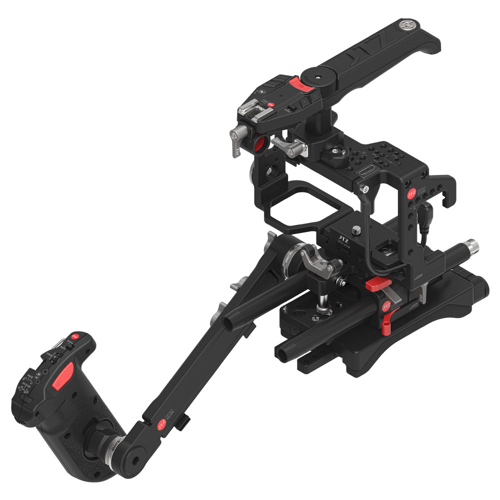 JTZ DP30 Camera Cage Baseplate Rig kit for SONY A7S A7SII A7SM2 A7R A7RM2 A7 II jtz dp30 camera baseplate shoulder support rig 15mm rod kit for sony fs5 pxw fs5
