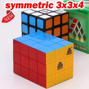 Puzzle Magic Cube WitEden 1688Cube symmetric meristic 3x3x4 334 cuboid cube professional educational twist logic game toys gift