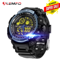 LEMFO LF21 Smart Watch Waterproof 50 Meter Sport Ultra long Standby Pedometer Smartwatch Men Wearable Devices For IOS Android